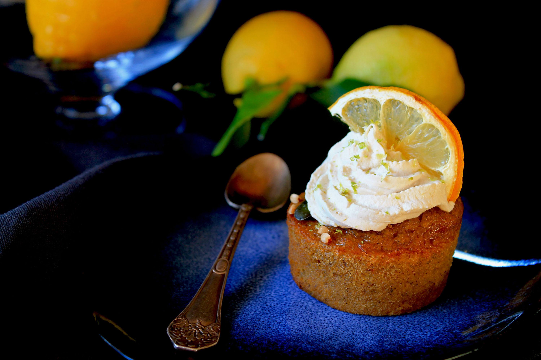CUPCAKE-CITRON-CHANTILLY-sans-gluten